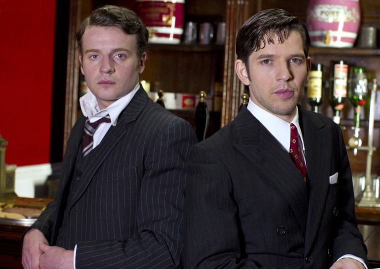 Andrew Gower is Cutler and Damien Molony is Hal