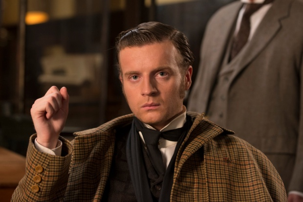 Andrew Gower as Sherlock Holmes. Copyright CBC.