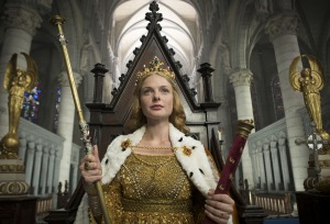 Rebecca Ferguson as The White Queen. Image Copyright: Company Pictures & ALL3MEDIA