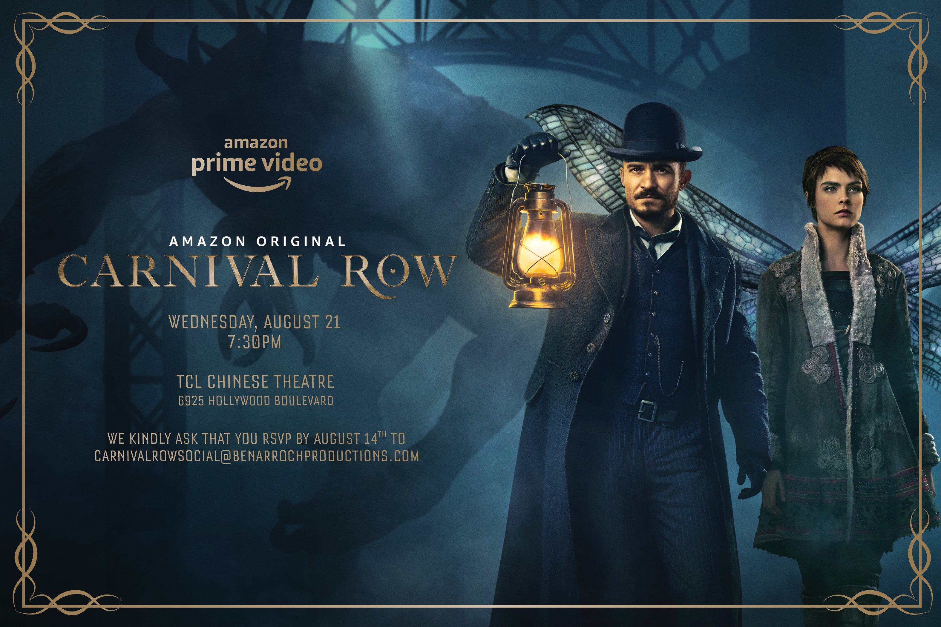 Carnival Row Andrew Gower Co Uk